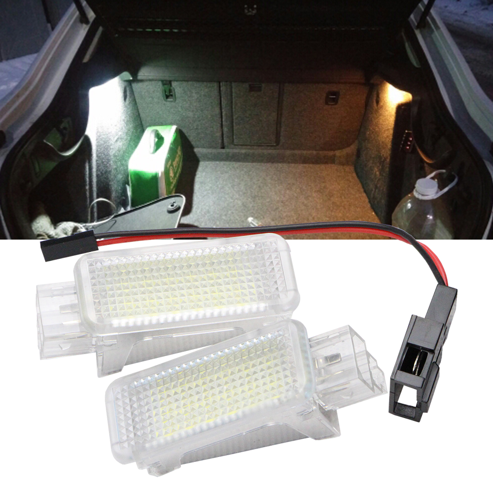 Led Interior Light for Audi A3/S3/A4/S4/RS4/A5/S5/A6/S6 LED door/foot/luggage light for VW Golf Scirocco Tiguan Touareg Passat