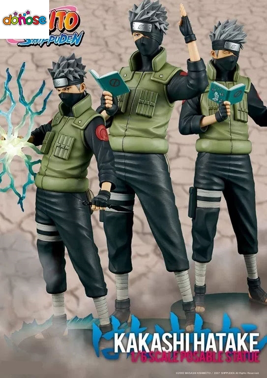 Anime Naruto Kakashi Hatake Standard Ver 1 6 Statue Interchangeable Arms Deads PVC Action Figure Collection