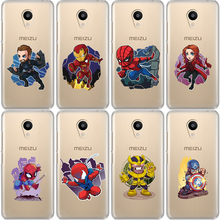 Miracle Avengers Iron Man Jorker Dead Pool Spiderman Fashion Phone Case For Meizu M6 Note M5S 5C M3s 3 M5 Note Pro6 U10 U20 miracle avengers iron man jorker dead pool spiderman fashion phone case for meizu m6 note m5s 5c m3s 3 m5 note pro6 u10 u20