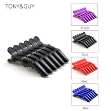 TONY GUY Alligator Hair Clips For Girls Plastic Hairdressing Clips Clamp Salon Hairpins Hair Accessories Women Hair Styling Tool(China)