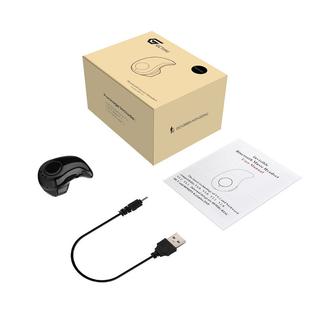 Earpiece Bluetooth Earphone Mini Wireless in ear Cordless Hands free Headphone Sport Stereo Auriculares Headset Earbuds Phone