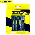 Liitokala Lii-S2 Lii-S4 зарядное устройство  Зарядка 18650 18350 18500 16340 10440 26650 1 2 в AA AAA NiMH батарея.