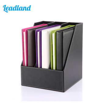 Kingfom 3 Slots Document Tray  File Organizer File Holder For Office & School