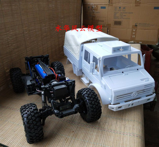 New 110 Scale Wheelbase 324mm Rock Rc Crawler Car Hard Plastic Body