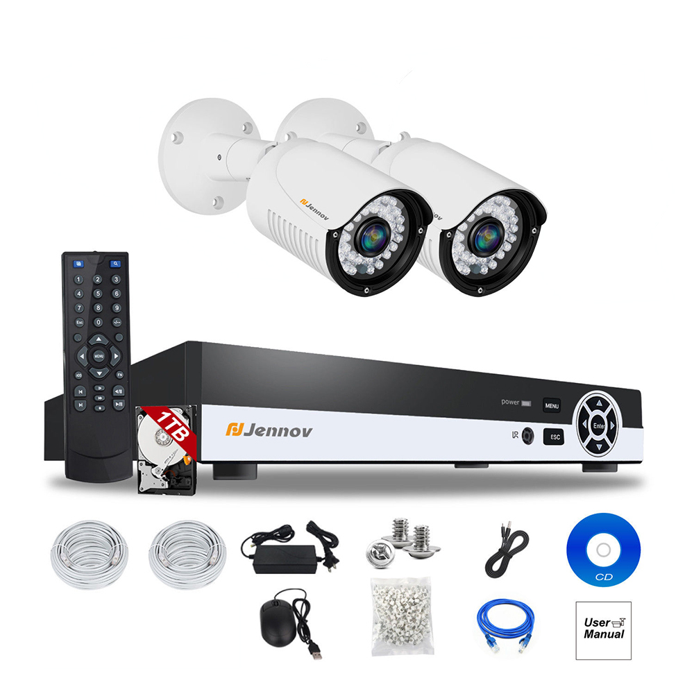 2CH 1080P 2MP POE NVR CCTV System IP Camera P2P Security Home Audio Video Record Vision Surveillance kits Outdoor IR Led H.264 6ch poe 1080p 2mp audio record home security camera with led light video surveillance system kit cctv set nvr outdoor ipcam ir