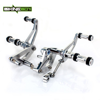 BIKINGBOY Forward Controls For Suzuki VL 800 Intruder Volusia Boulevard C50 M50 Adjustable Foot Rests Foot Pegs Rearsets Classic