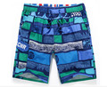 Men's summer personalized shorts fashion plaid printing loose shorts men Casual quick-drying beach shorts thin section