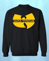 Wu Tang Clan Logo Men S Crew Neck Sweatshirt Gza Rza ODB Method Hip Hop Hoodies