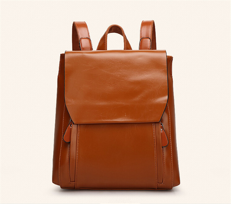 OLGITUM bags 2017 New Arrival PU Leather Backpack Vintage Women s Backpacks Travel Bags Women Leather