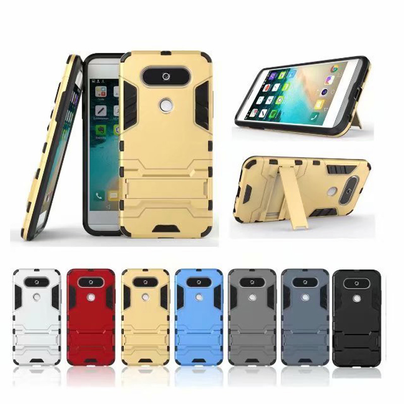 For Cover LG Q8 Case Anti-knock Silicone Robot Armor Phone Case For LG Q8 Cover For LG V20 Mini Case 5.2 inch Fundas