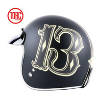 TORC Vintage Motorcycle Motorbike Motocross Helmet Capacete Casco Open Face Jet DOT Capacete