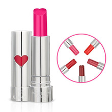 2018 Brand Heart Shape Sexy 8 Color Matte Lipstick Cosmetics Lip Beauty Velvet Waterproof Lasting Moisturizing Lip Gloss