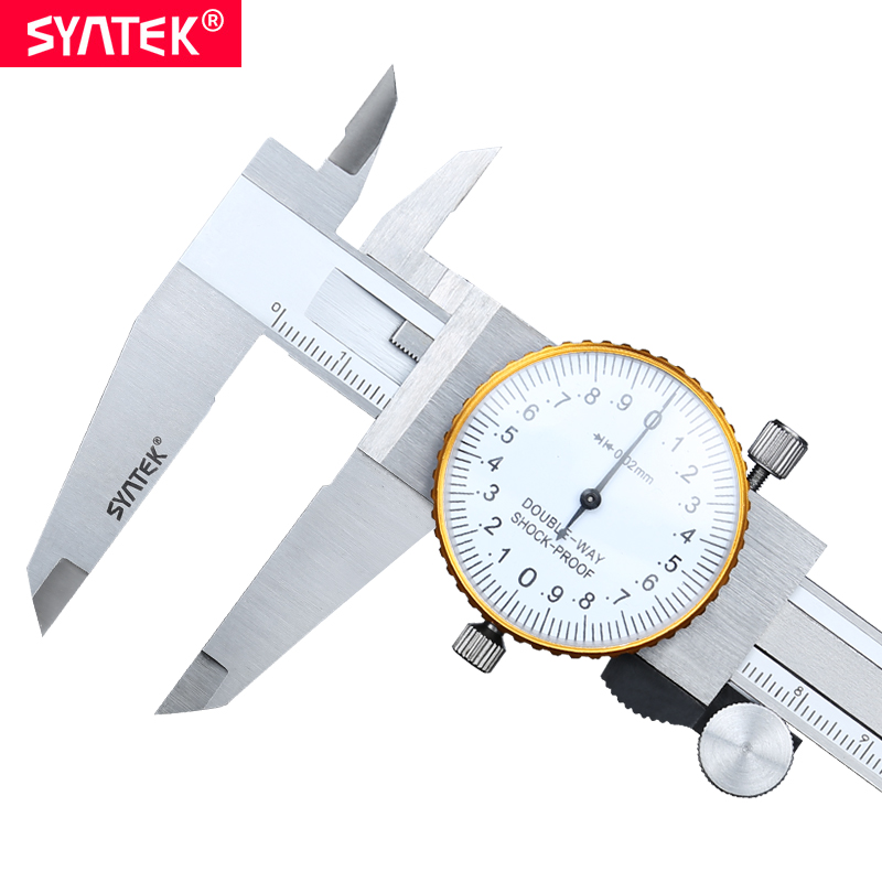 Syntek 0 300 mm Metric Gauge Measuring Tool Dial vernier caliper Shock proof Vernier Caliper 0