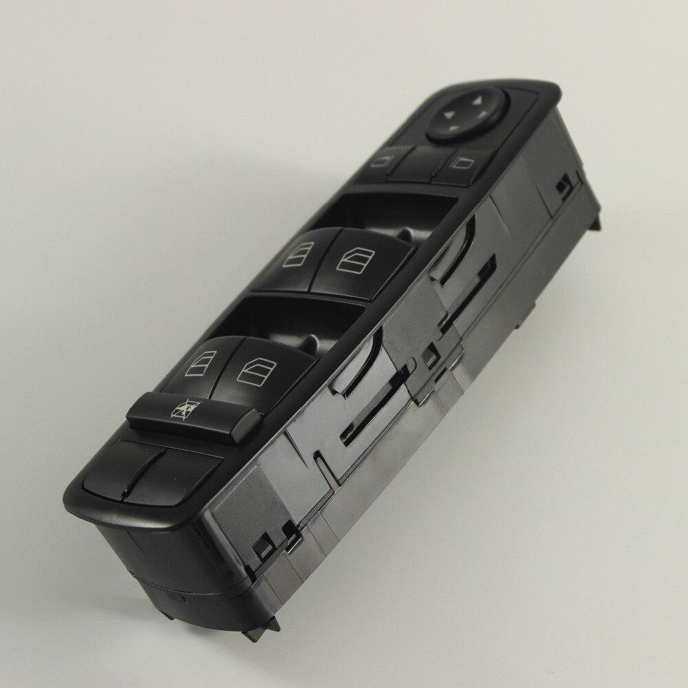 Commutateur principal de miroir de fenêtre de porte avant gauche adapté pour la classe de mercedes-benz W164 ML GL R - 6