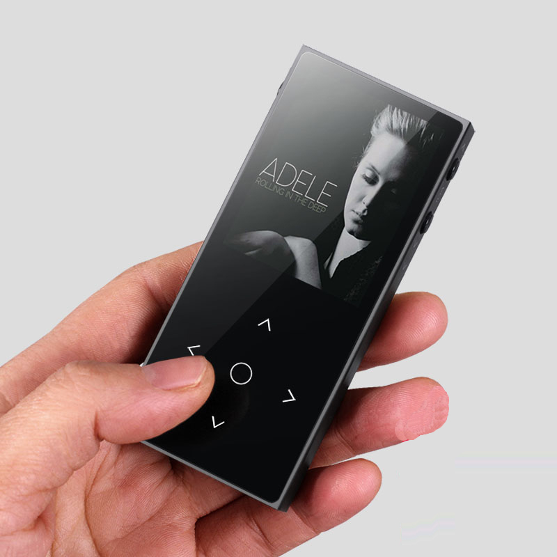 Original BENJIE X1 Full Metal 8GB Lossless HiFi MP3 Music Player with HD OLED FM Voice
