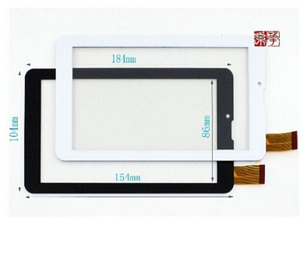 Free Film + New touch screen panel 7 Oysters T72V T72 3G / Supra M74AG Tablet Digitizer Glass Sensor replacement Free Shipping
