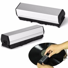 VBESTLIFE Turntable Player Cleaner Accessory Anti Static Carbon Fiber Vinyl Record Cleaner Cleaning Brush for CD/LP Record Brush
