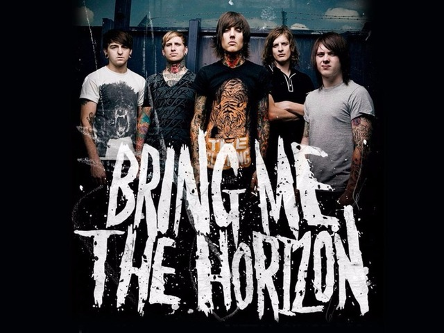 Bring me the horizon deathcore band music silk art poster bedroom decoration 2840