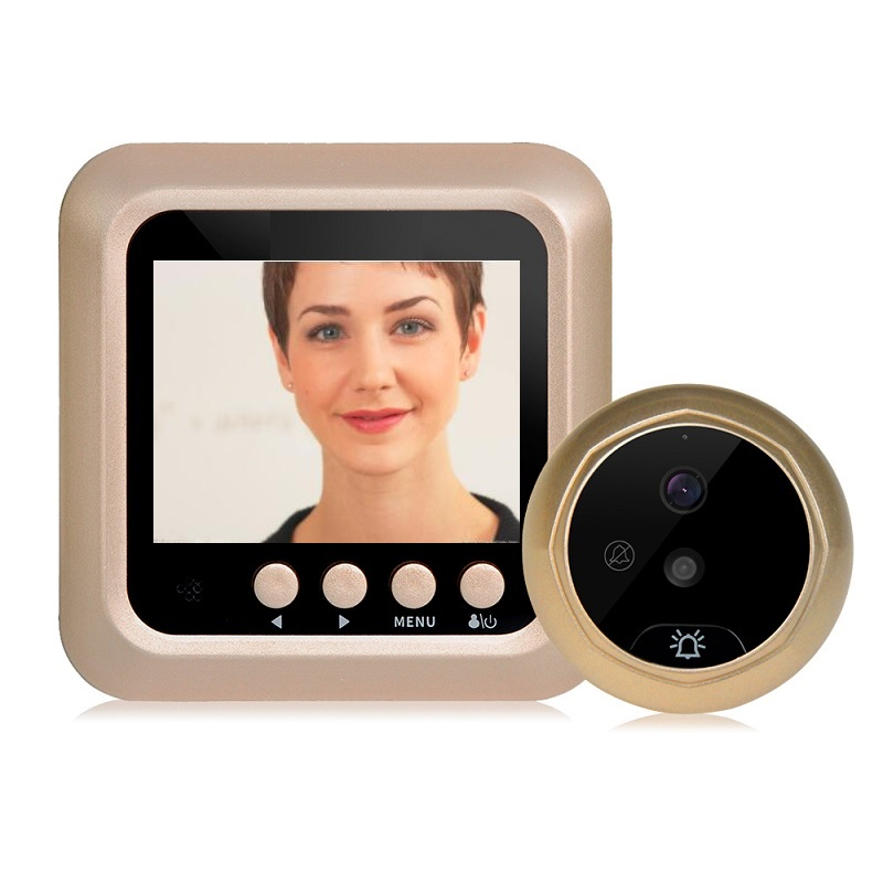 Digital Peephole Video Eye Wireless Call 2.4 inch TFT LCD IR Night Vision Photos Taking Video Recording video peephole Max 32GBDigital Peephole Video Eye Wireless Call 2.4 inch TFT LCD IR Night Vision Photos Taking Video Recording video peephole Max 32GB