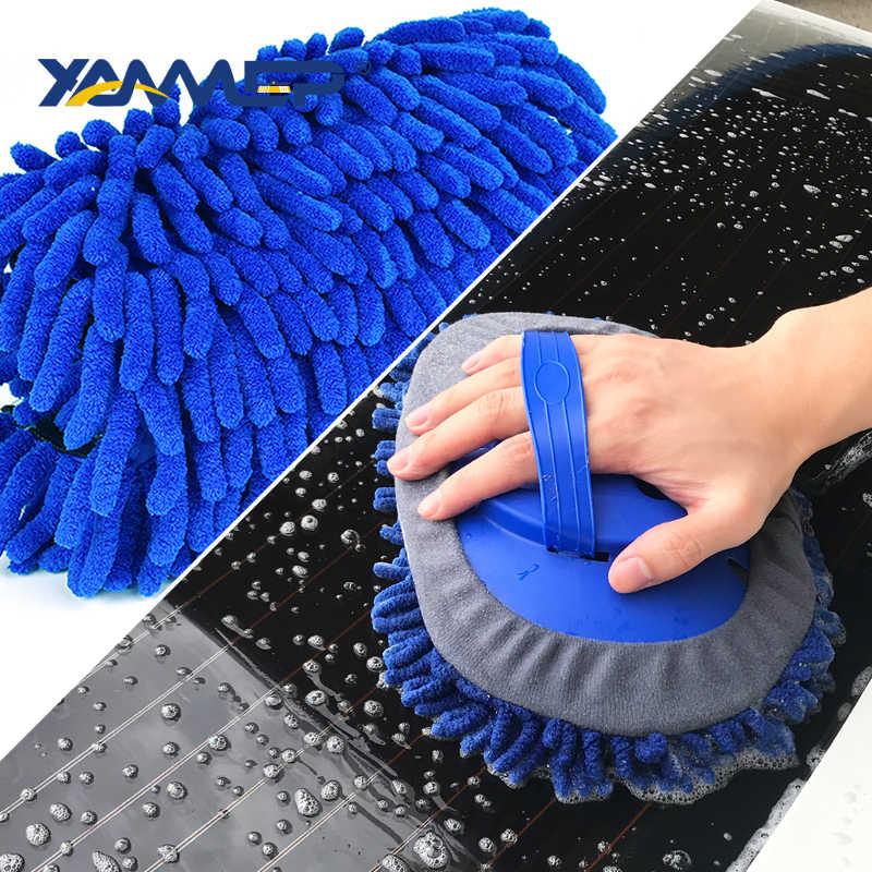 洗車ブラシ洗浄モップシェニールほうき伸縮式ロングハンドル車のクリーニングブラシ車のアクセサリー車のクリーニングツール Xammep