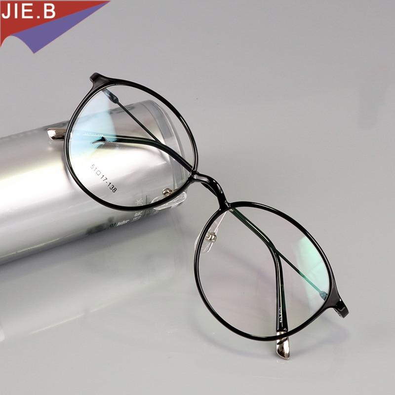 Derliaus apvalios volframo titano akiniai rėmeliai vyrams ultem apvalūs akinių rėmeliai moterims kompiuterio apsauginiai akiniai.