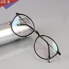 Vintage Round Tungsten Titanium Glasses Frame Men Ultem Round Eyeglasses Frame Woman