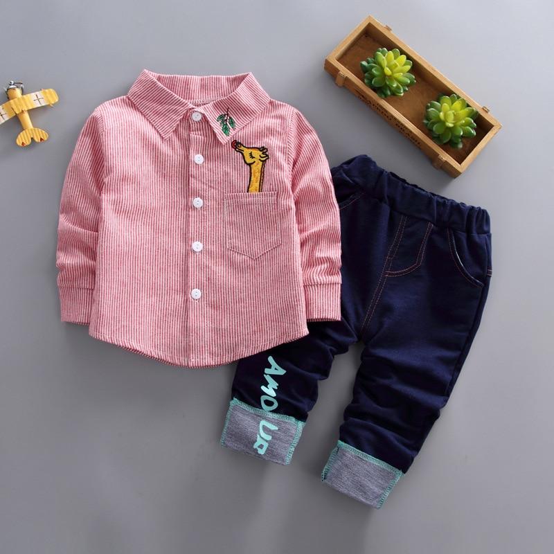 ce613375e951 BibiCola/Новинка весна-осень комплекты одежды для мальчиков Детский спортивный  костюм детский спортивный костюм футболка для мальчика штаны д.