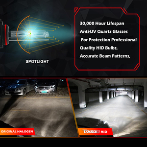 Image 3 - H7 Xenon Bulb H1 H3 H4 Xenon Headlight Ballast kit HID Light Lamp H11 55W Headlamps for Motorcycle 35W 9005 9006 9004 9007 H27