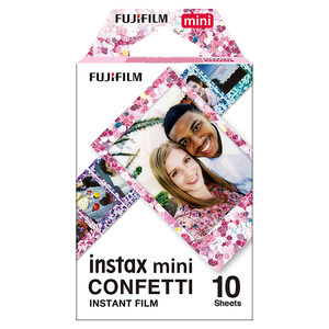 Image 5 - Fujifilm Instax Mini Film konfeti + acıbadem kurabiyesi Instax Mini 9 renkli filmler için 20 adet Fuji Instax Mini 8 9 7s 70 90 kamera SP 1