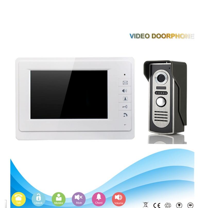 V70F-M2 Family Metal Video Door Phone with electronic door lock INTERCOM system video doorbell video door system door bell