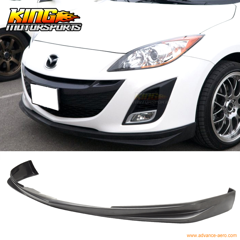 Us 80 99 For 2009 2010 2011 Mazda 3 Mazda3 Ds Style Front Bumper Lip Spoiler Bodykit Urethane In Bumpers From Automobiles Motorcycles On