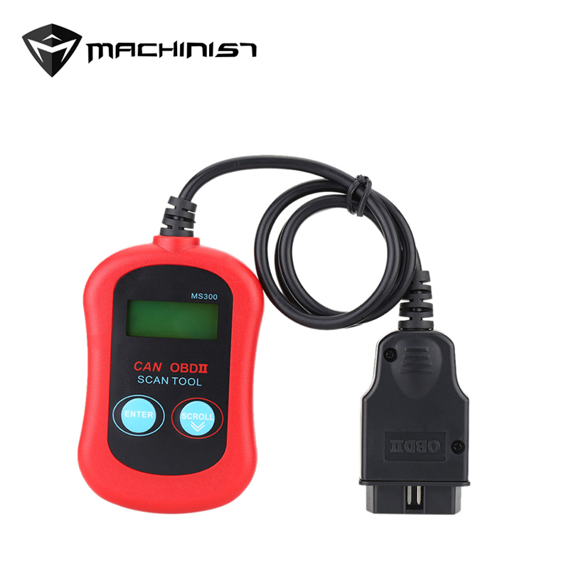 Nieuwe Ms300 Obdii Obd2 Auto Auto Diagnose Scan Engine Code Reader Maxiscan Ms300 Obd 2 Scanner Ms 300