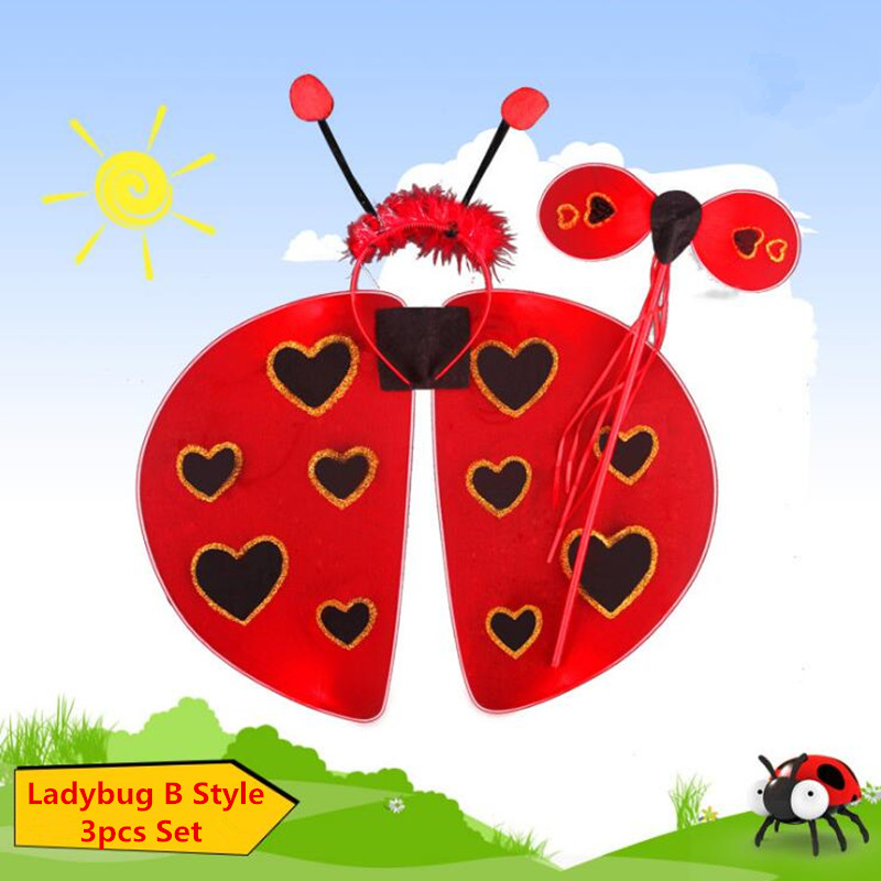 Ladybug wings for adults seems