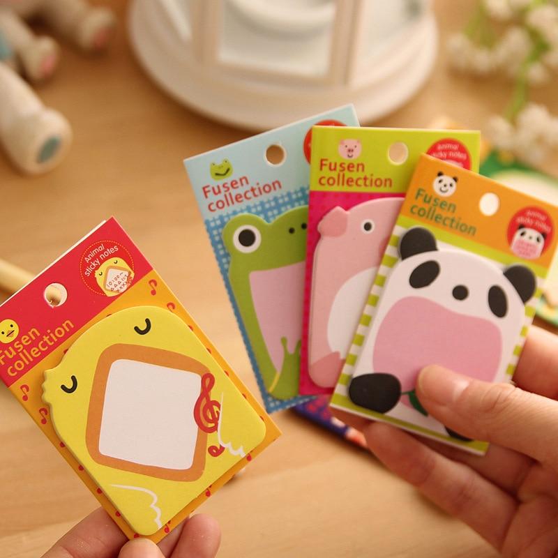 Creative Cute pădure Animal Series Cute Paper Memo Pad / autocolant - Blocnotesuri și registre - Fotografie 2