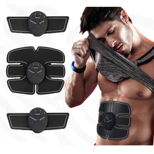EMS Trainer Wireless Muscle ABS Stimulator Smart Fitness Abdominal Training Device Electric Body Massager font b