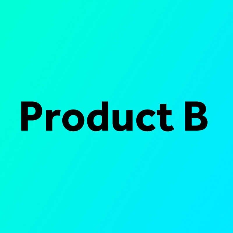 スペイン倉庫から再送製品 A + B 製品