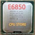 Оригинал lntel Core 2 Duo E6850 Настольный ПРОЦЕССОР 3.0 ГГц 4 МБ/1333 МГц процессора LGA 775 (рабочая 100% Бесплатная Доставка)