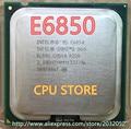 Original lntel Core 2 Duo E6850 Desktop CPU 3.0GHz 4MB/1333Mhz processor LGA 775 (working 100% Free Shipping)