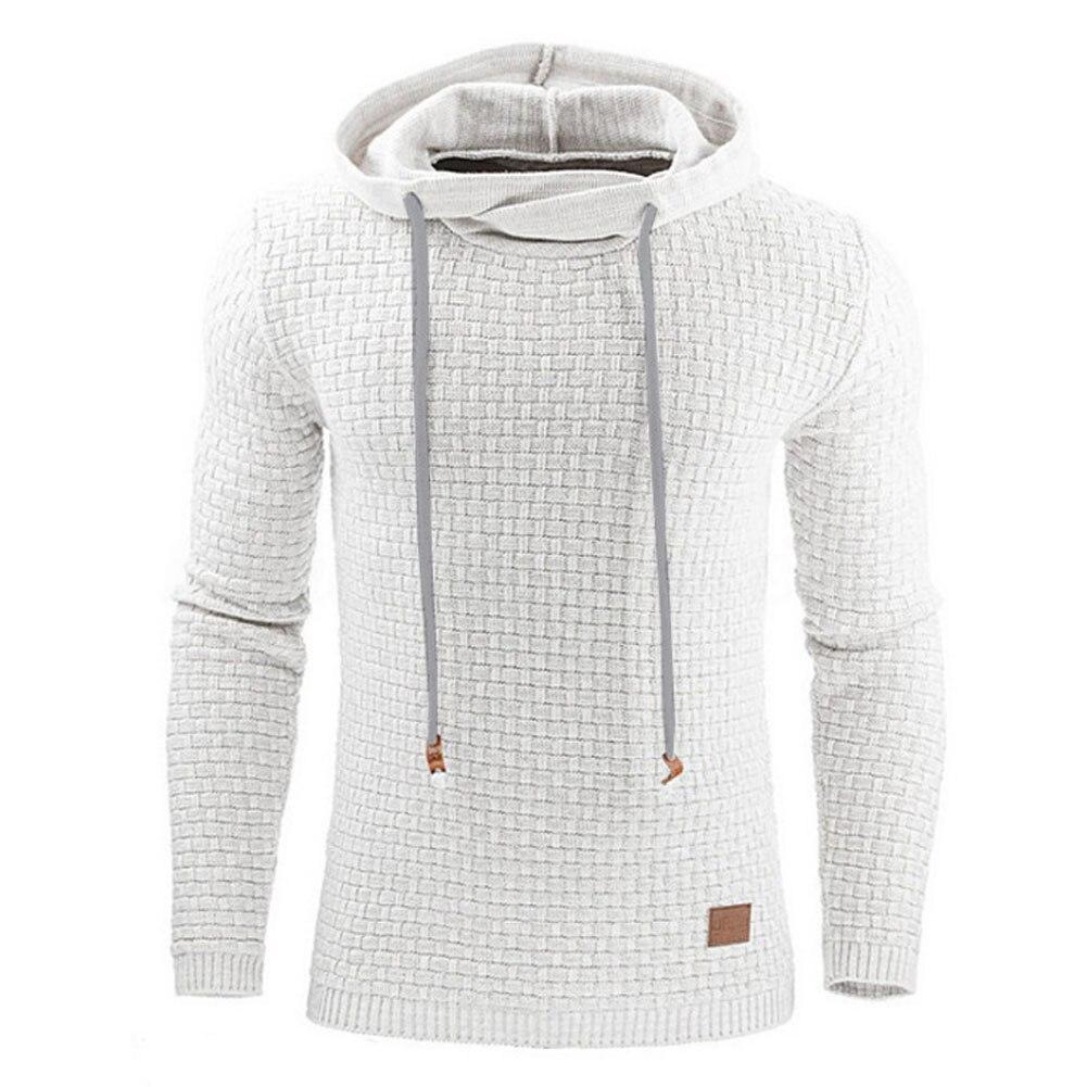 Hoodies Männer 2018 Marke Männliche Lange Ärmel Einfarbig Mit Kapuze Sweatshirt Herren Hoodie Trainingsanzug Sweat Mantel Lässige Sportswear S-4XL
