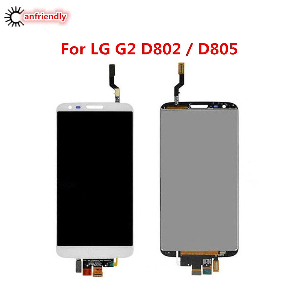 For LG Optimus G2 5 2 LCD Display Touch Screen Replacement Digitizer Assembly For LG G2