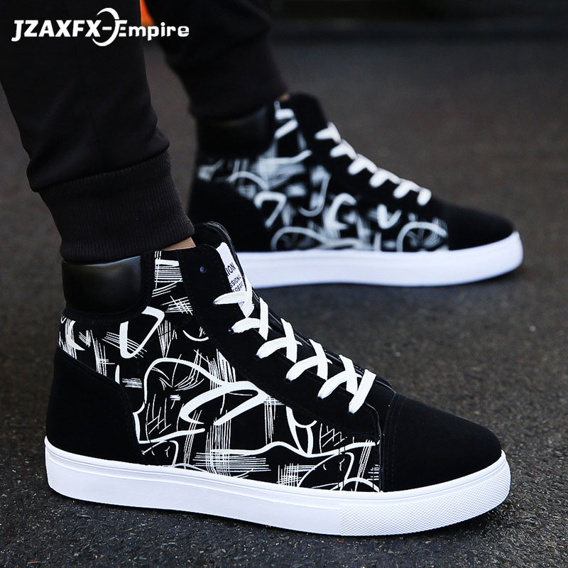 Super Hot Spring And Autumn Men Boots Comfortable Quality High Top Shoes Men New Casual Shoes Botas Breathable Masculinas