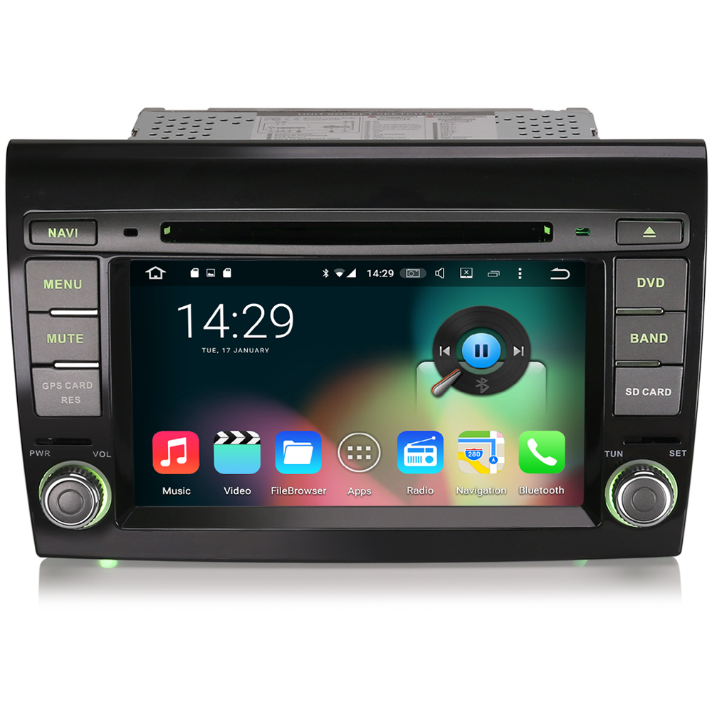 7 android 6 0 autoradio lcd dab cd usb dtv touchscreen. Black Bedroom Furniture Sets. Home Design Ideas