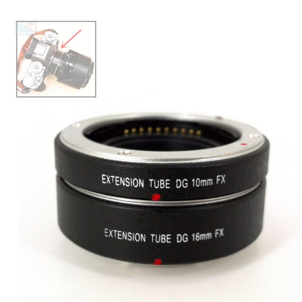 10mm+16mm Electronic AF Auto Focus Macro Extension Ring Tube for Fujifilm XT2 XT1 XT20 XT10 XE1 XE2 XA10 XA3 As MCEX 11 MCEX 16