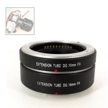 10mm + 16mm 전자 AF 자동 초점 매크로 확장 링 튜브 Fujifilm XT4 XT3 XT20 XT30 XE4 XE3 XA10 XA3 As MCEX 11 MCEX 16