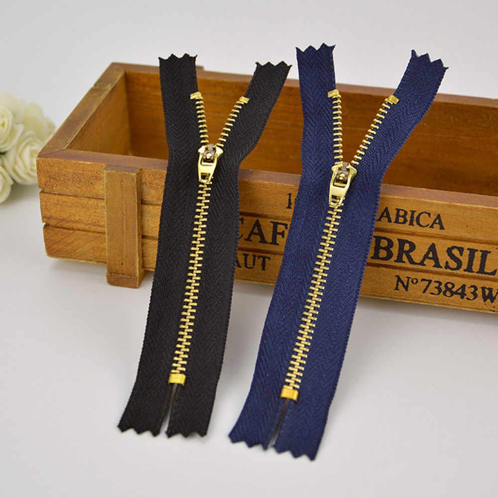 10 шт./лот молния металл, швейные молния аксессуары джинсы повседневные штаны на молнии DIY Одежда аксесс