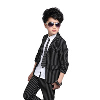 Baby Boy Clothing Sets Autumn Boy Striped Suit 9 11 12 Years Boys Clothes Suit For