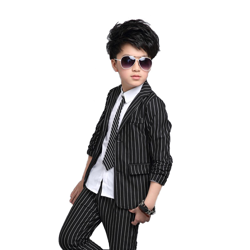 Baby Boy Clothing Sets Autumn Boy Striped Suit 9 11 12 Years Boys Clothes Suit For Child Kids Teenage Boys Pants Formal clothes teenage girls clothes sets camouflage kids suit fashion costume boys clothing set tracksuits for girl 6 12 years coat pants