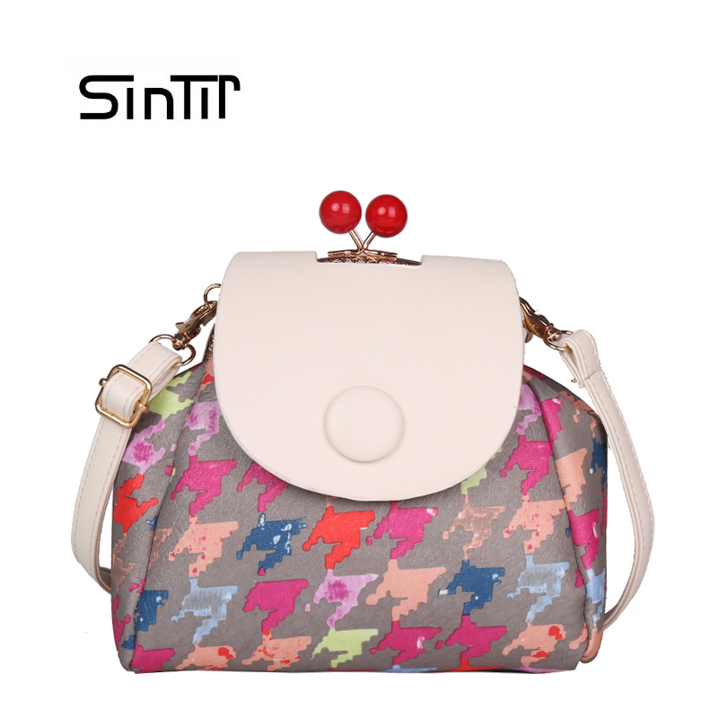 SINTIR Fashion Women Mini Travel Backpacks Girls ColorFul Leather Backbag School Bag Female Shoulder Bag Mochila mujer sac a dos