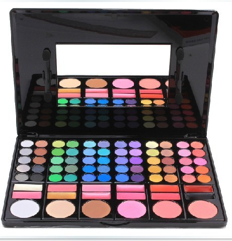HOT!Cosmetics 78 Eye Shadow Color Plate Of The Inferior Smooth Bead Light Professional Makes Up Kit Palette Set