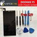 DOOGEE F5 LCD Display + Touch Screen + Herramientas 100% Original Digitalizador Asamblea Reemplazo Reparación de Accesorios Para El Teléfono móvil